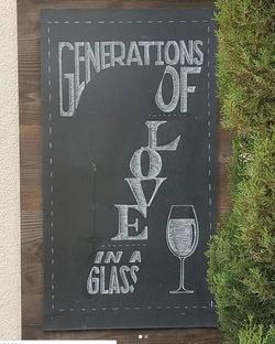 Winery Signage