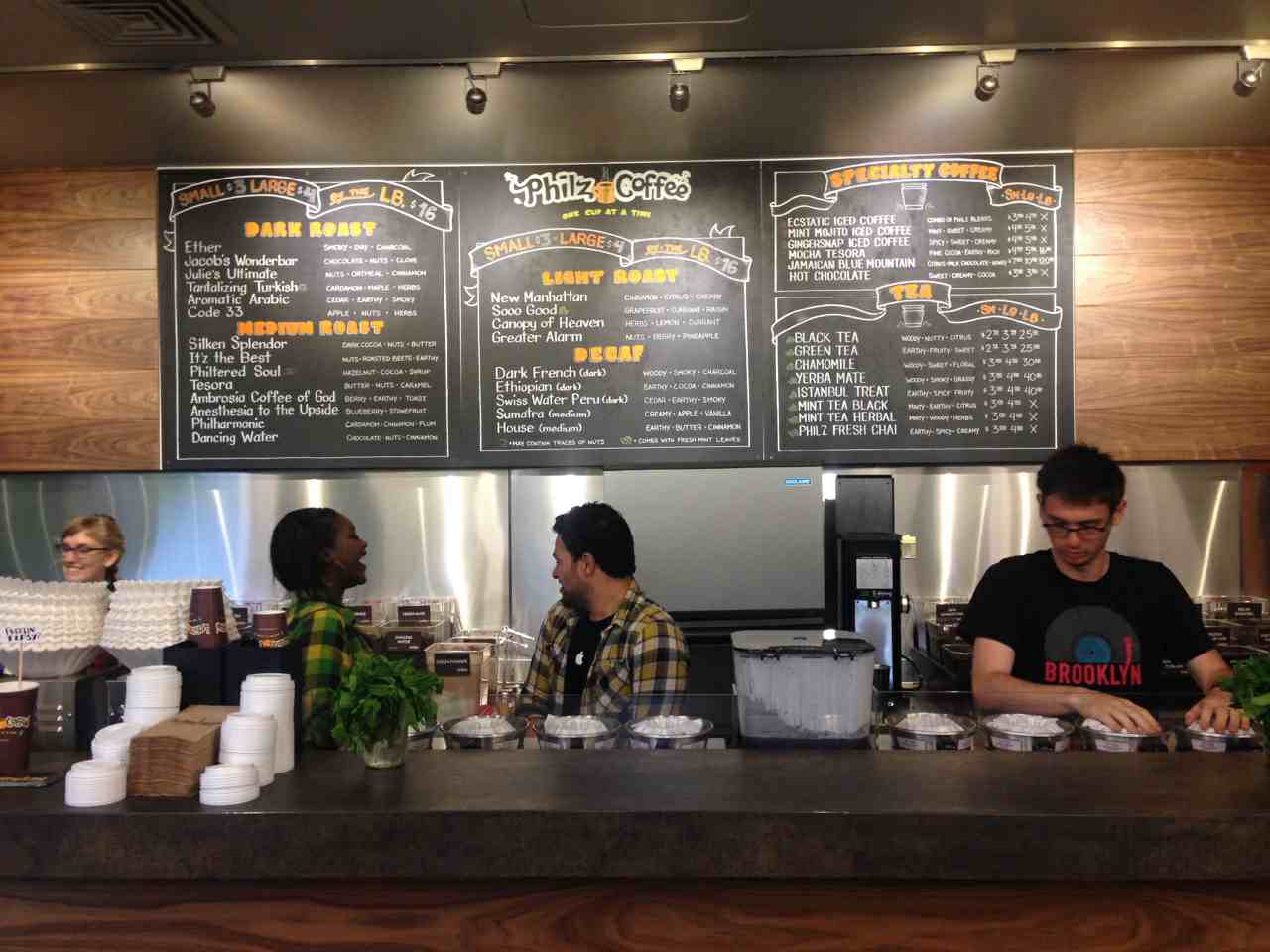 Philz Coffee Menu Santa Monica