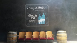 Photobooth Chalk Art Design
