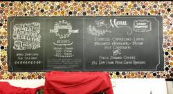 Zynga Cafe Menu