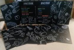 Cafe & Food Art Panels