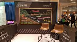 Tradeshow Live Chalk Art Signage