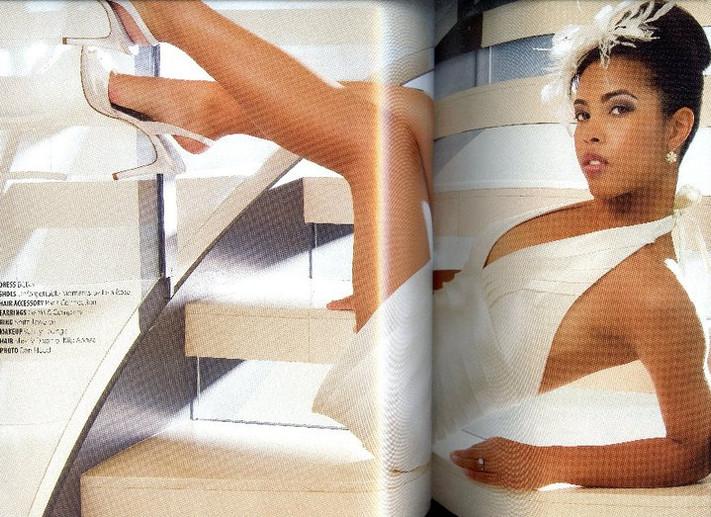 Mocha Bride Magazine Tearsheet