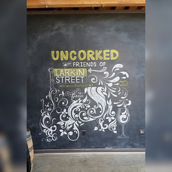 Fundraising Event Chalk Art Design