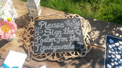 Wedding Sign Design