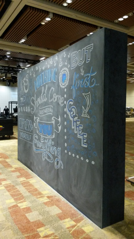 PayPal Chalk Installation #2