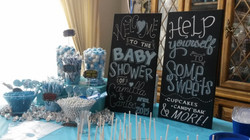 Baby Shower Chalk Art Signage