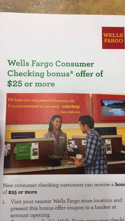Wells Fargo Print Ad