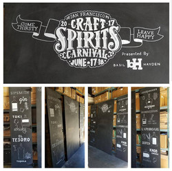 Special Event Chalkboard Signage