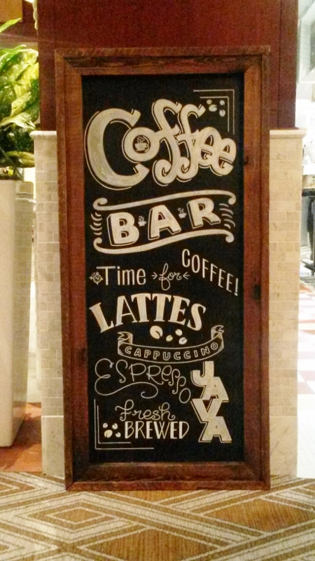 Coffee Bar Chalkboard Sign