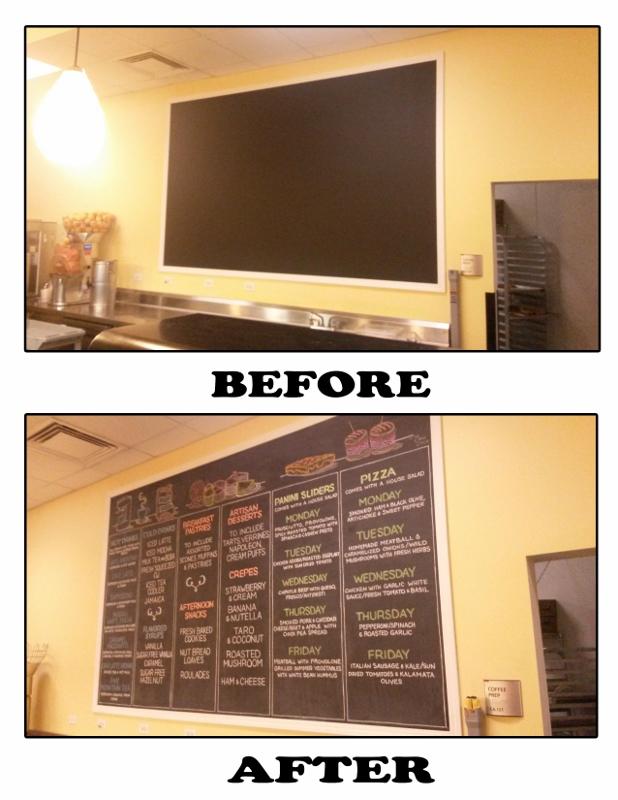 Marvell Cafe Menu Design