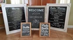 Wedding Signage Order