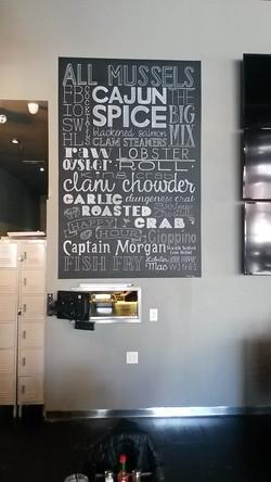Restaurant Word Art Design