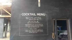 Corporate party menu design