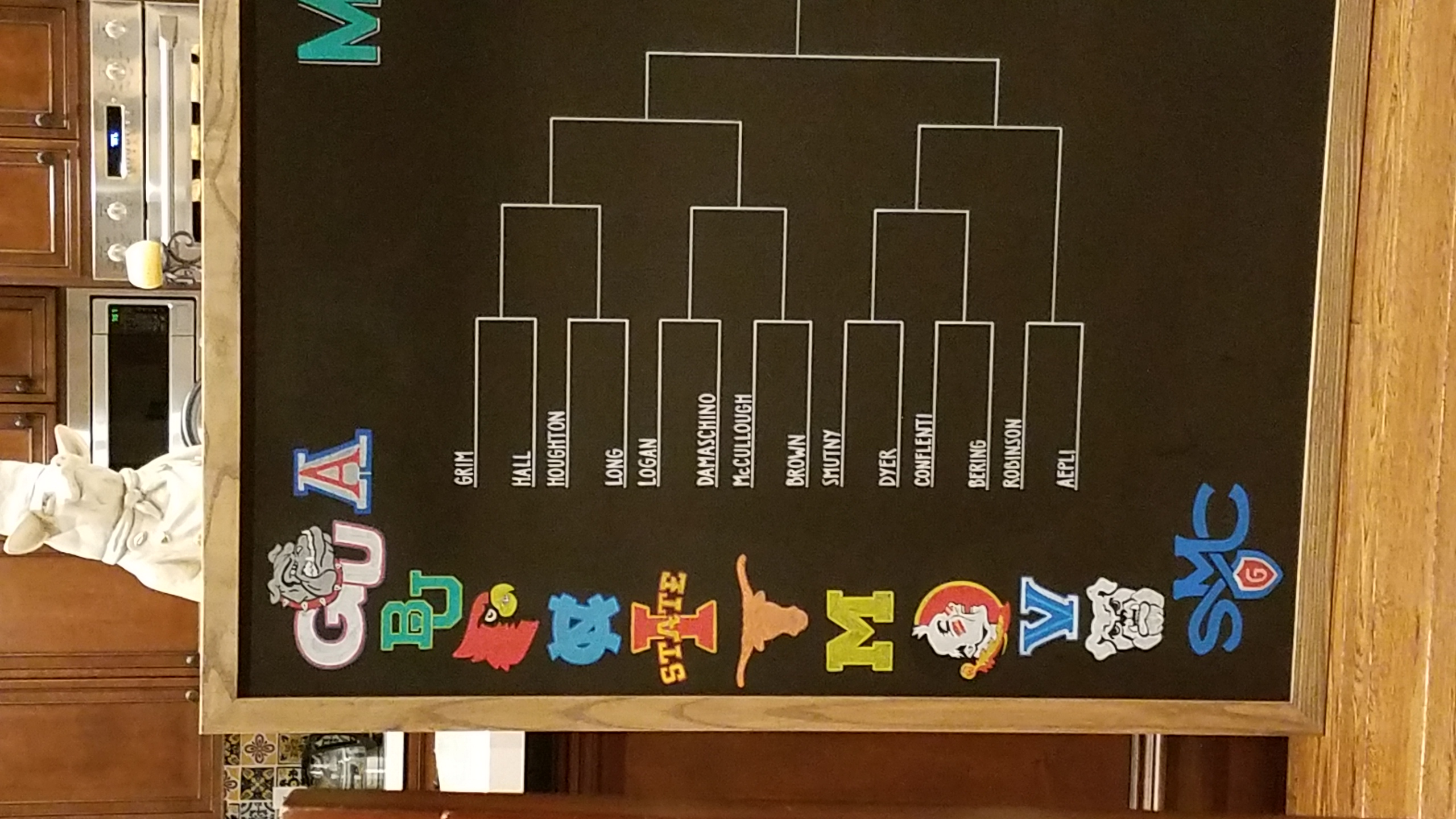 March Madness Board (Left)