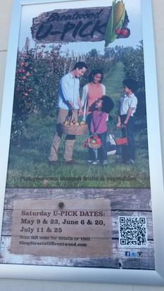U-Pick Farms Billboard