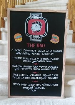 Chairman Bao Food Truck Menu