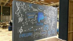 PayPal Chalk Installation #1