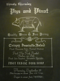 Pigs & Pinot
