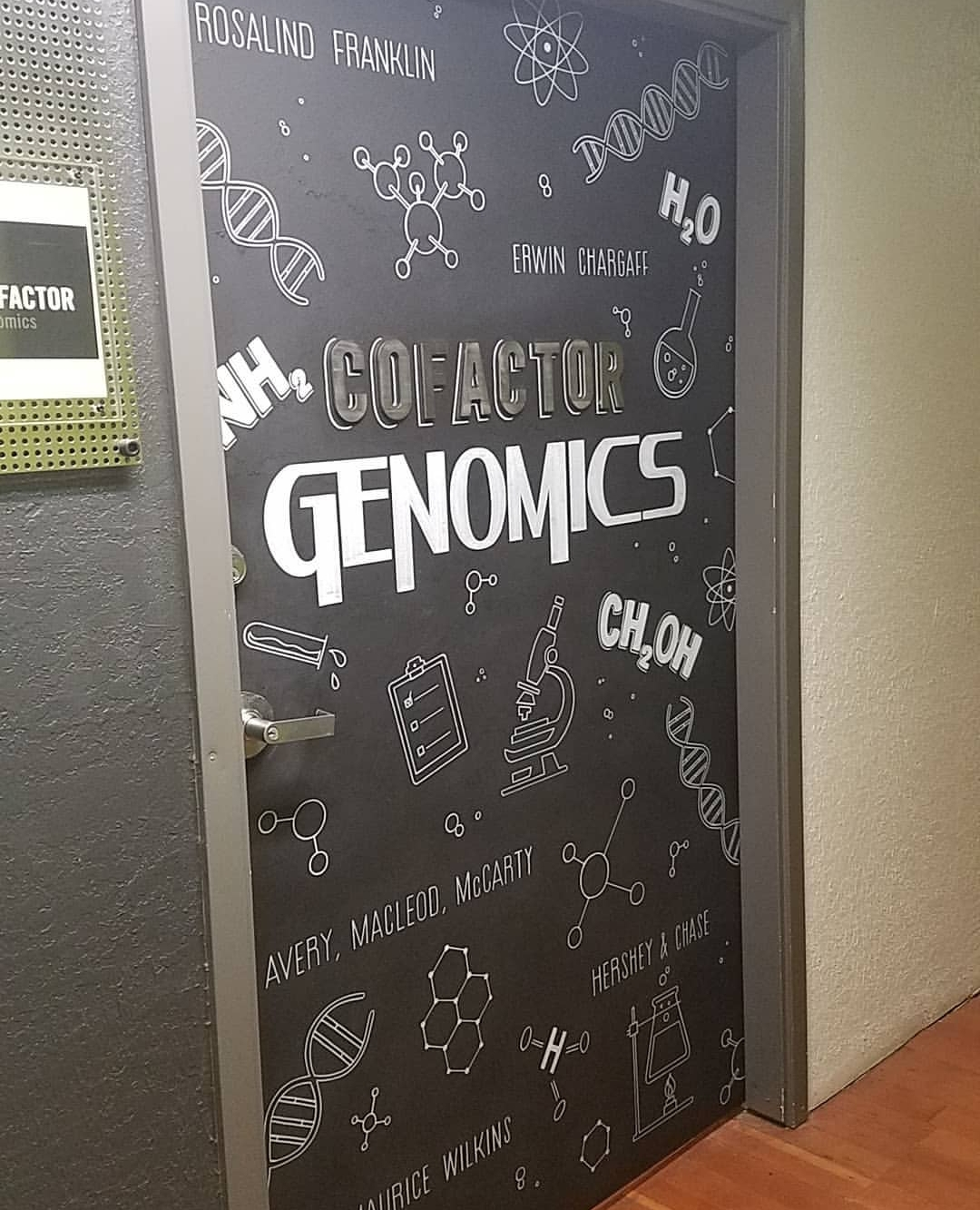 Chalkboard Door Design