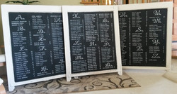 Wedding Seating Chart Design