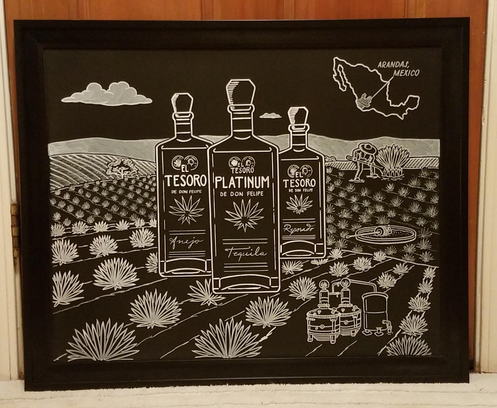 Tequila Promo Board