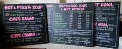 Solano Baking Co. Menu Boards