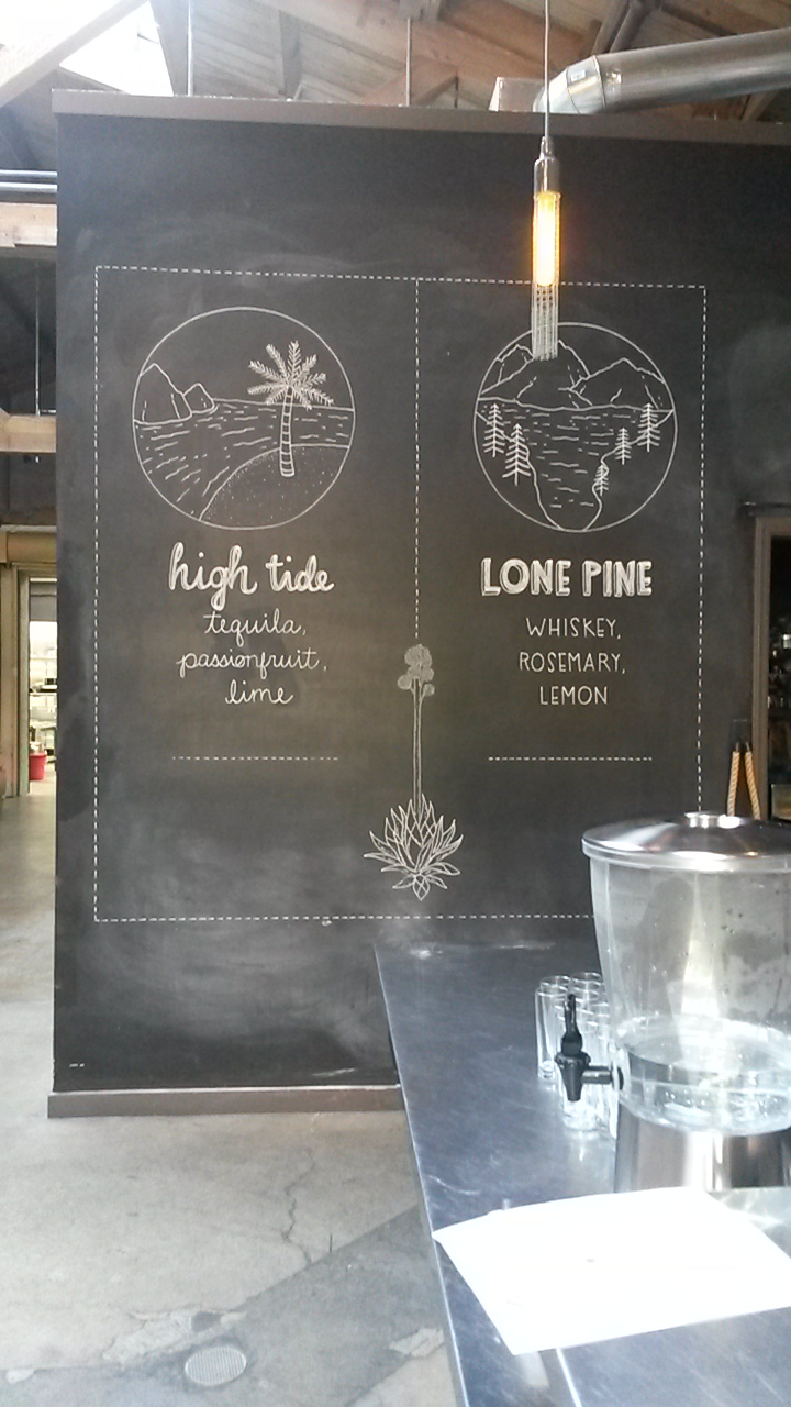 Wedding Bar Menu Design