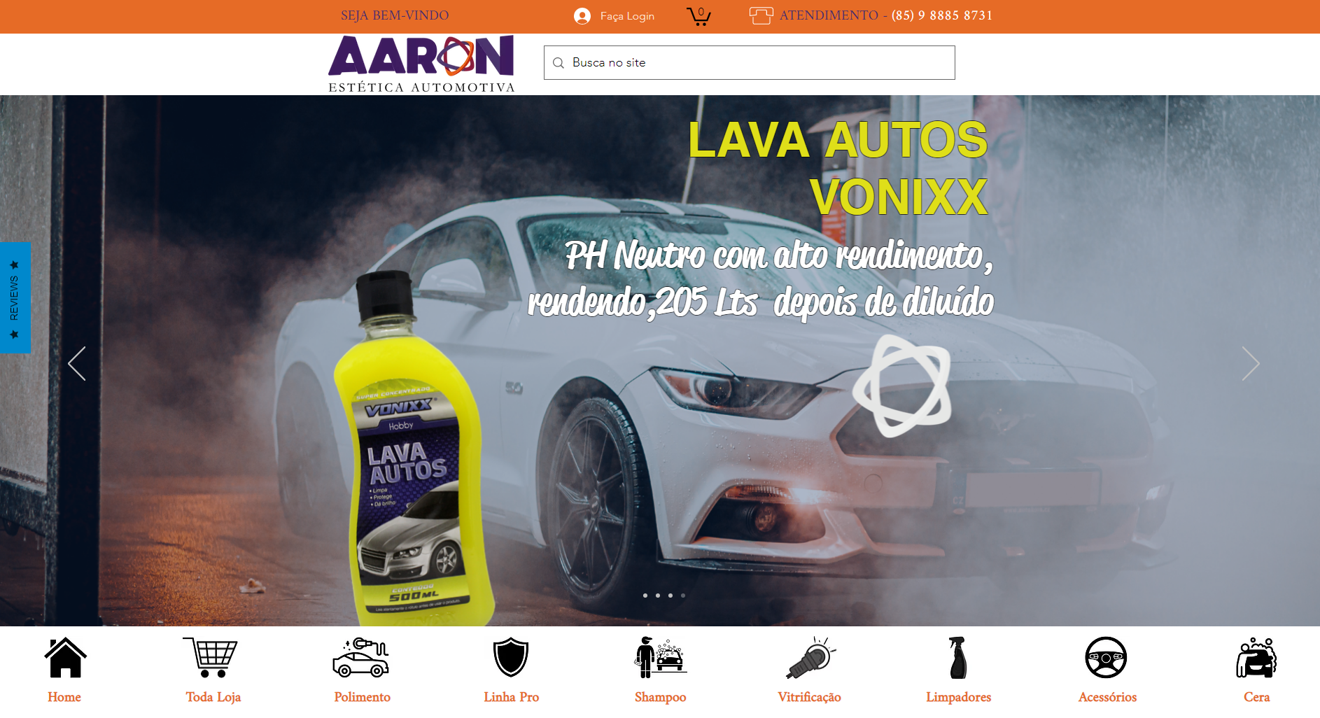 AARON ESTETICA AUTOMOTIVA
