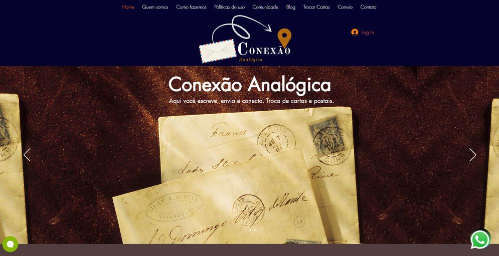 WEBSITE_CONEXÃO_ANALOGICA_DESENVOLVIDO_
