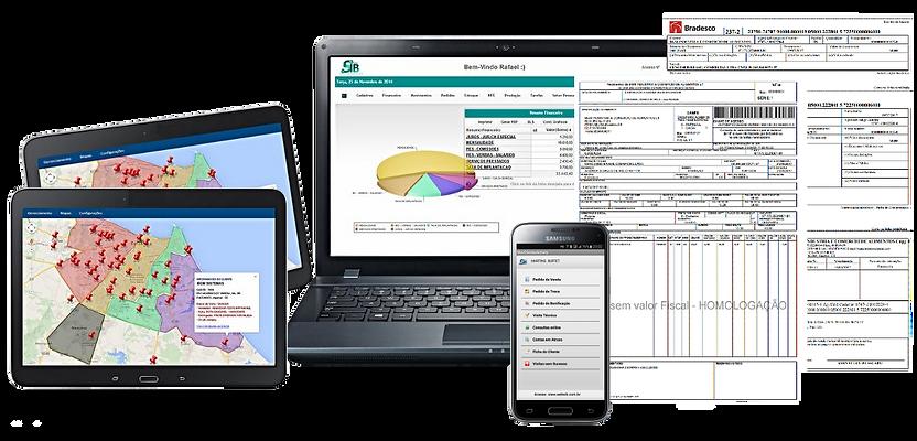 Erp Online Sistema WEBSIB para indústria de alimentos