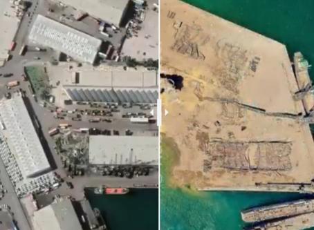 Porto que explodiu no Líbano era principal ponto de exportação do Brasil no País.