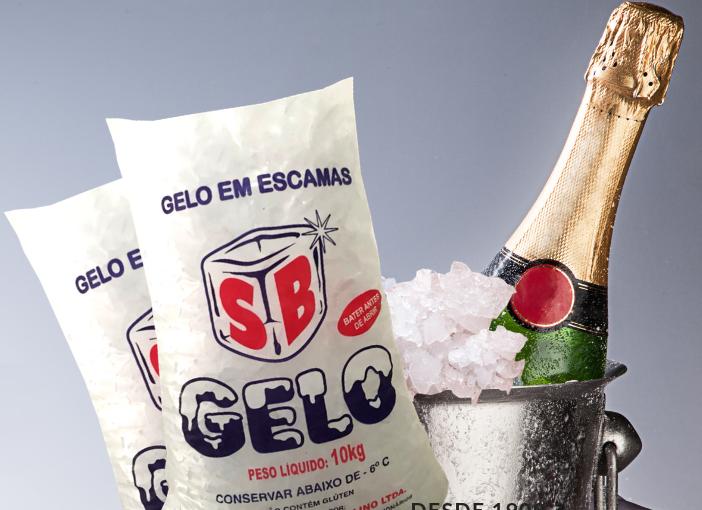 SB GELO Fábrica de Gelo em Fortaleza - Campanha de seu WEBSITE - Perfeito para resfriamentos de bebidas