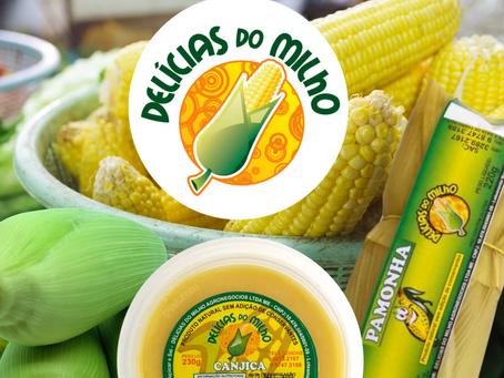 Delícias do Milho lança seu E-commerce