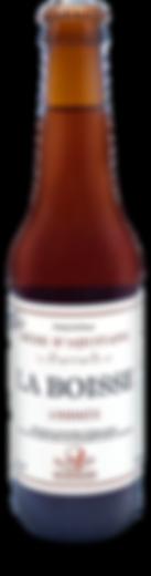 Botteled La Boisse Amber beer