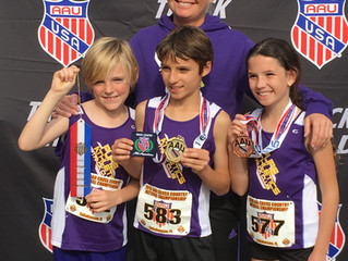 PURE Athletics brings home the Gold at the AAU National Cross Country Championships