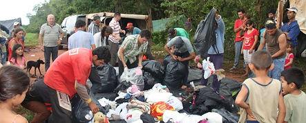 Hjelpesendinger til Paraguay