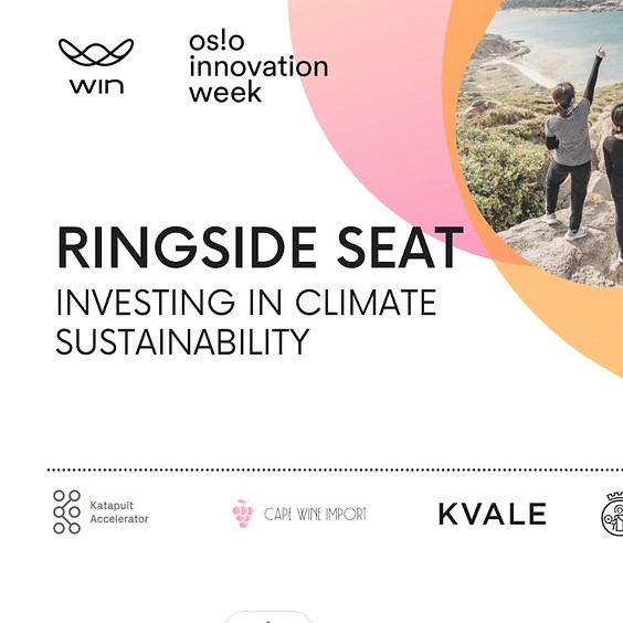 RINGSIDE SEAT: Investing in Climate Sustainability