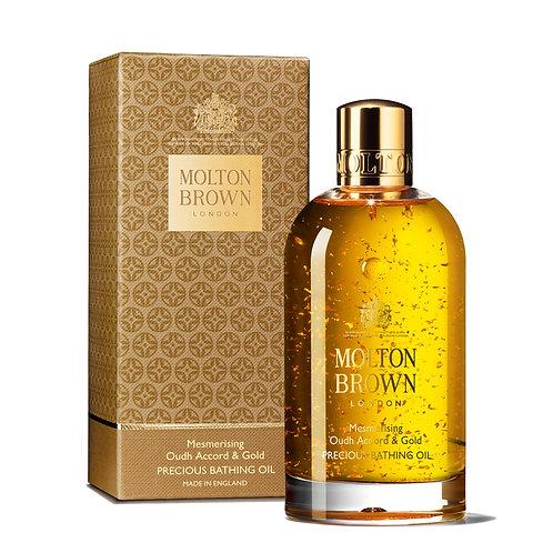 Molton Brown Mesmerising Oudh Accord & Gold Bathing Oil