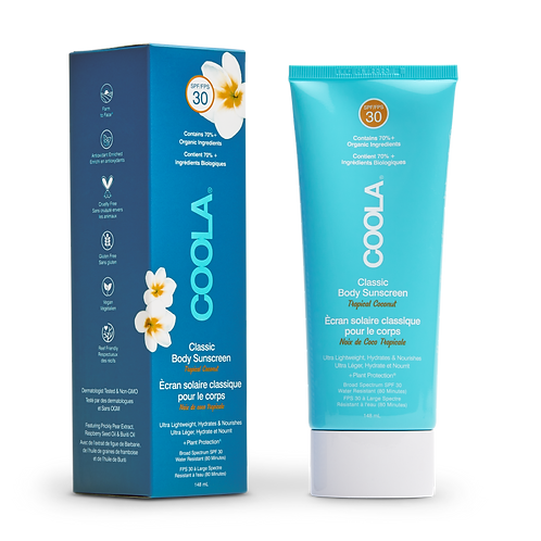 COOLA Classic SPF 30 Body Lotion Tropical Coconut