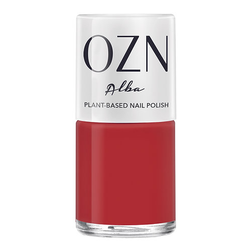 OZN Planted-based Nail Polish Alba Orange-Rot