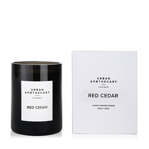 Urban Apothecary Red Cedar  Scented Candle