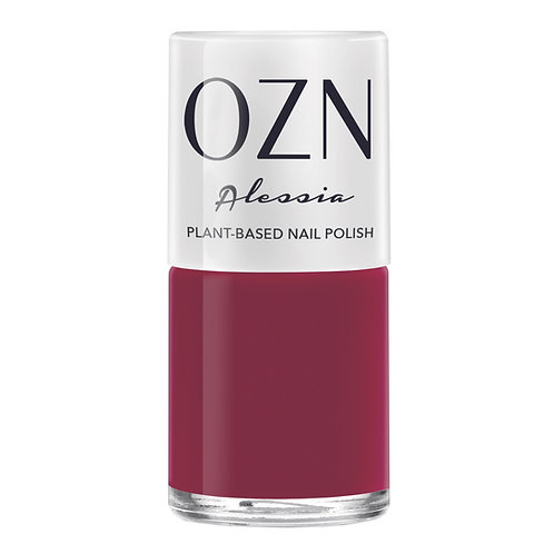 OZN Plant-based Nail Polish Alesia Dunkelrot