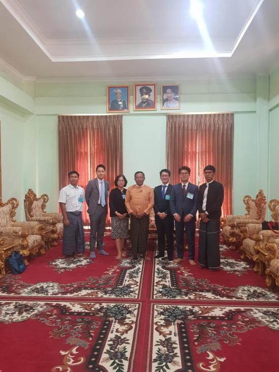 2019.03.25 - 외교부 소관 (사)사람예술학교, 미얀마와 사범대학 설립 위한 협력 체계 구축