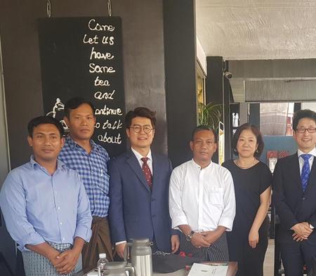 2019-03-24 - 마산무학여고 자매학교 '사람예술학교', 미얀마와 예술교육 협력 추진