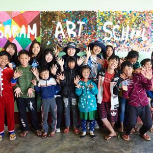 사람예술학교는 예술을 통해 우린 안의 아름다움을 발견하여  사람다운 미래인재를 건축하는 학교입니다. 미래학교는 공감, 공존, 공생하는 미래문명을 설계하는 능력을 가진 인재를  육성합니다. 사람예술학교는  미얀마의 사람다운 미래인재를 양성합니다.