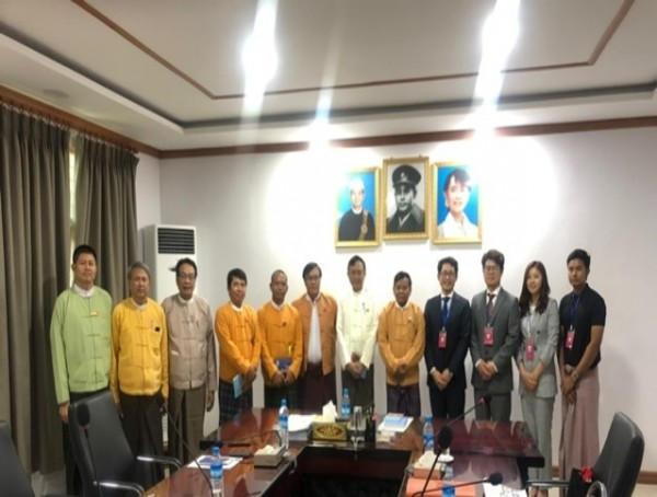 2019-05-28 - 사람예술학교, 미얀마 지방정부 수상과 학교설립 협력체계 구축