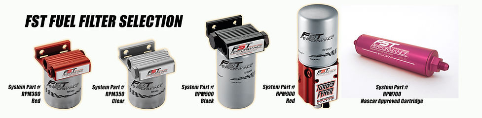 FST Performance fuel systems and filters