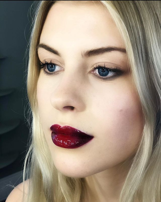Bold and beautiful lips!