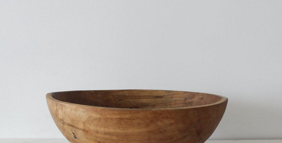 Vintage Wooden Butter Bowl